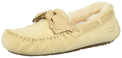 a8a69a35121 UGG Women's Dakota Leather Bow Slipper