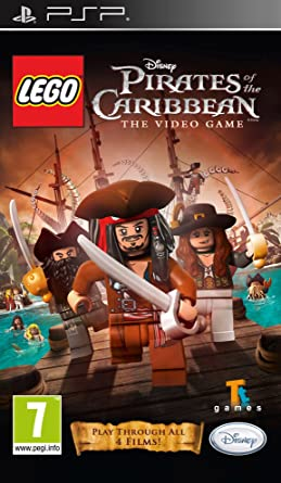 Lego Pirates Of The Caribbean Psp Amazoncouk Pc Video Games