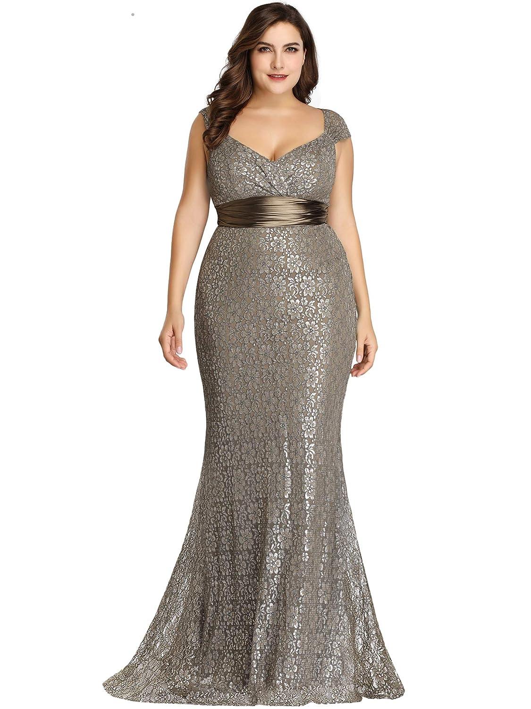 93d8b481ba2 Silver Plus Size Prom Dress - Gomes Weine AG