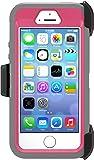 OtterBox Defender Case for Apple iPhone 5/5s/SE - Blaze Pink/Gunmetal Grey