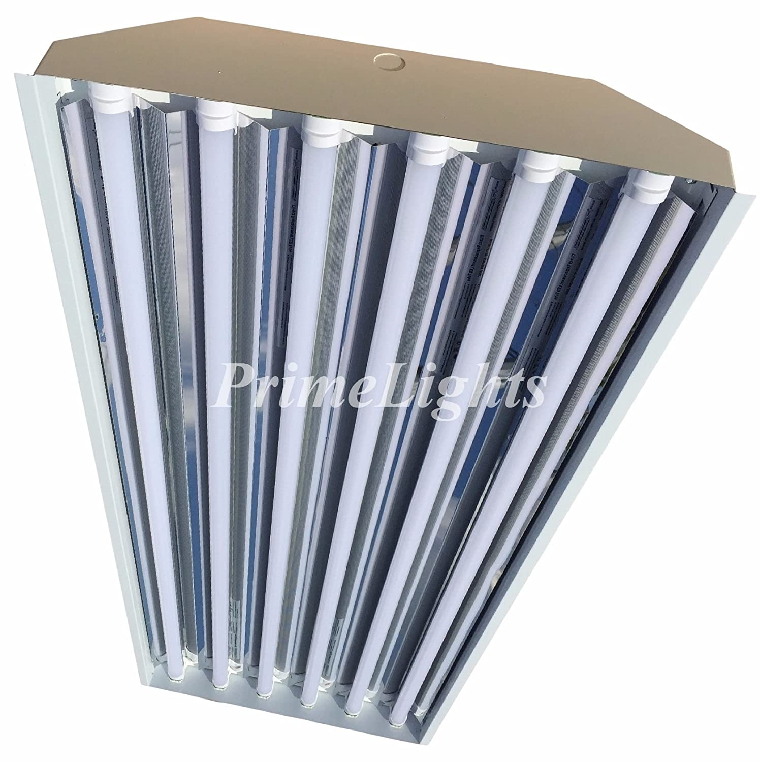 Industrial Lights For Shop: 6 Bulb / Lamp T8 LED High Bay Warehouse, Shop, Commercial