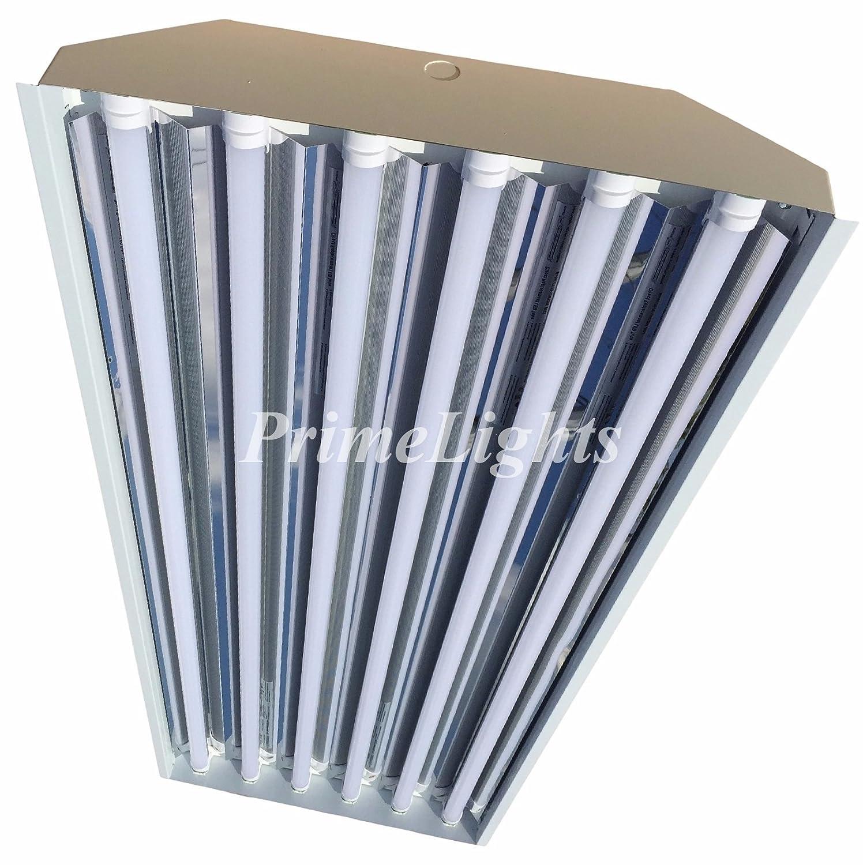 Commercial Led Shop Lights: 6 Bulb / Lamp T8 LED High Bay Warehouse, Shop, Commercial