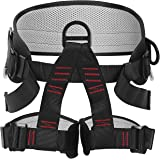 AmazeFan Climbing Harness, Thicken Rock Climbing Harness for Men Women, Protect Waist Safety Harness, Wider Half Body…