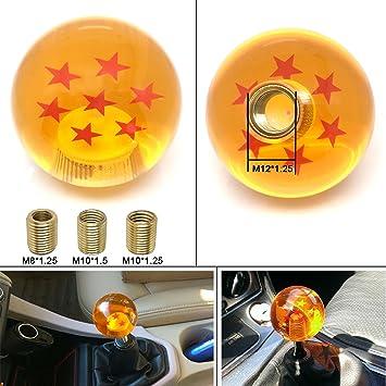 Universal 5 Star Blue Dragon ball Z Custom Shift Knob 54MM w// M8 M10 M12 Adapter