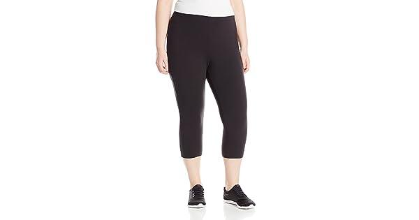 8838d94d59f Just My Size Women s Plus-Size Stretch Jersey Capri