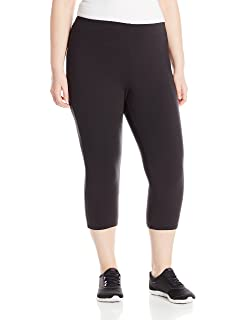 297ddb6490c Just My Size Women s Plus Size Active Stretch Capri at Amazon ...