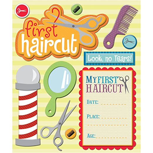 k company first haircut sticker medley amazonca home kitchen
