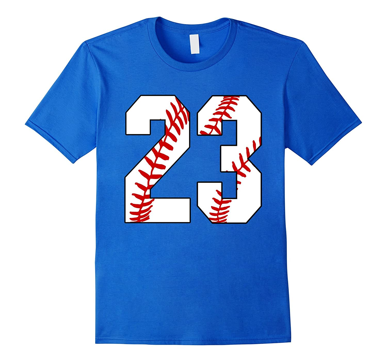 23 Baseball 23rd Birthday Twenty-three Baseball Mom T-shirt-PL