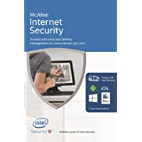 McAfee 2016 Internet Security   10 Devices   1 Year   PC/Mac/Android   Download
