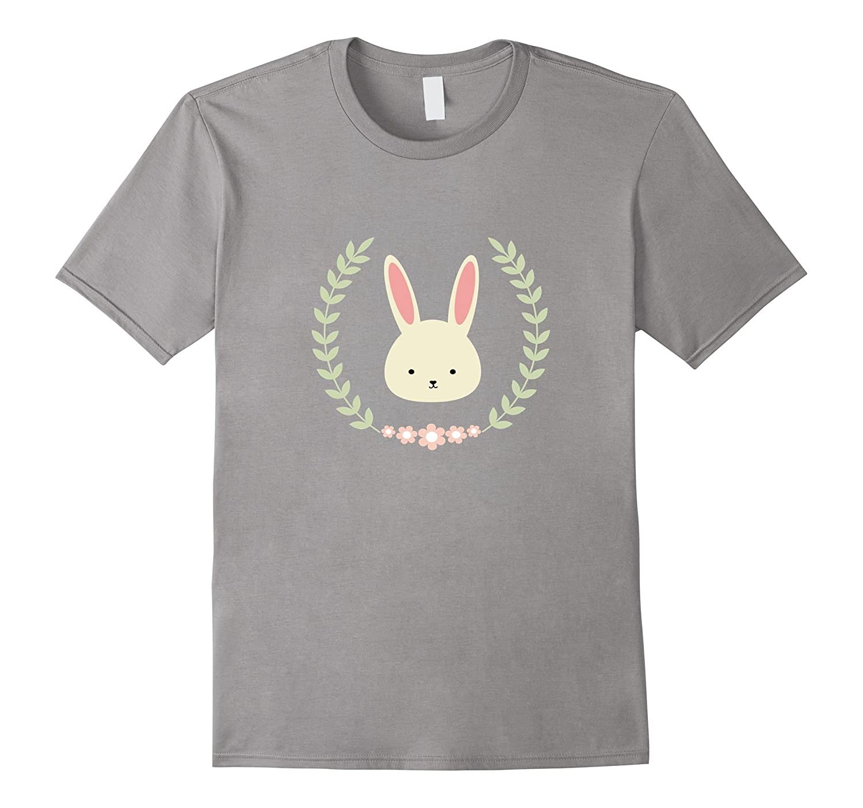 Bunny Shirt With Flowers Th Teehelen