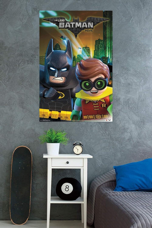 Trends International Wall Poster Lego Batman and Robin 22.375 x 34 FR14617BLK22X34