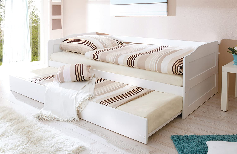 Sofabett für jugendzimmer  TICAA Sofabett mit Auszug