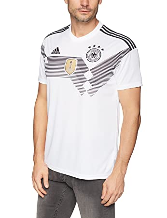 abacb7fea0d adidas DFB Jersey WM 2018 Football Shirt White Black