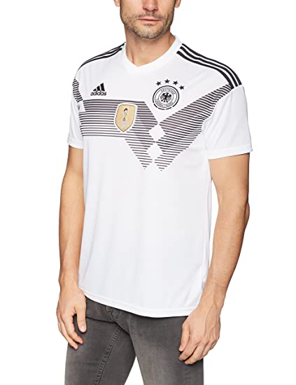 2a99905f0157 Adidas Men s Football Germany Home Jersey (BR7843 White Black Large)