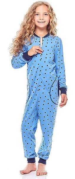 fc504a1af32 Merry Style Pijamas Enteros 1 Pieza Vestidos de Dormir 100% Algodón Niña  MS10-186