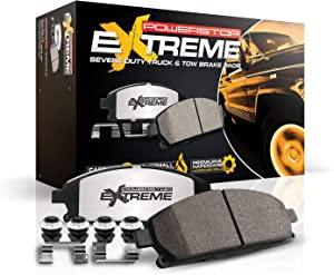 Power Stop Z36-965, Z36 Truck & Tow Carbon-Fiber Ceramic Front Brake Pads