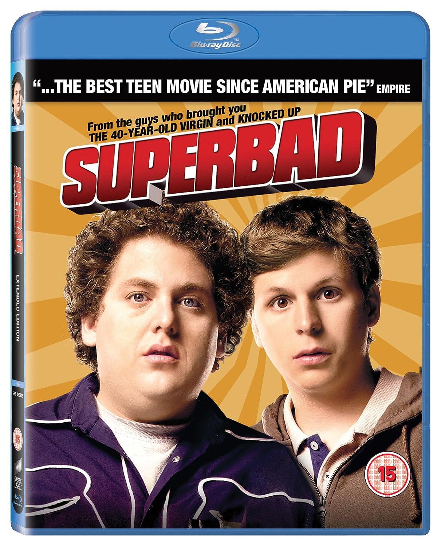 Superbad Extended Edition Blu-ray 2007 Region Free: Amazon.co.uk: Jonah  Hill, Michael Cera, Christopher Mintz-Plasse, Seth Rogen, Bill Hader, Greg  Mottola, ...