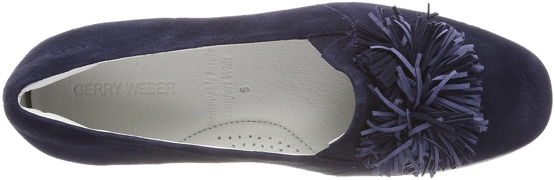 GERRY WEBER Damen Blau Mia 07 Geschlossene Ballerinas Blau Damen (Dunkelblau) dafba3