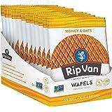 Rip Van Wafels Snack Wafels, Honey and Oats, 12 Count, 13.92 OZ