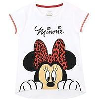 Disney Camiseta de Manga Corta para niñas Minnie