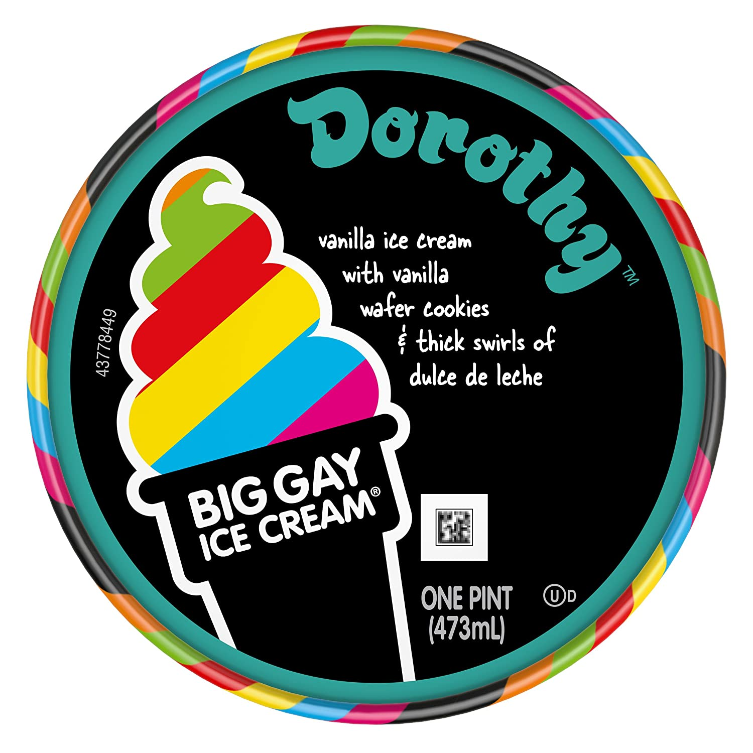 Big Gay Ice Cream Dorothy, 16 oz (Frozen): Amazon.com: Grocery & Gourmet Food