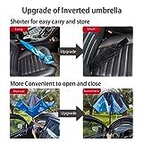 VIWINVELA Inverted Automatic Umbrella Double