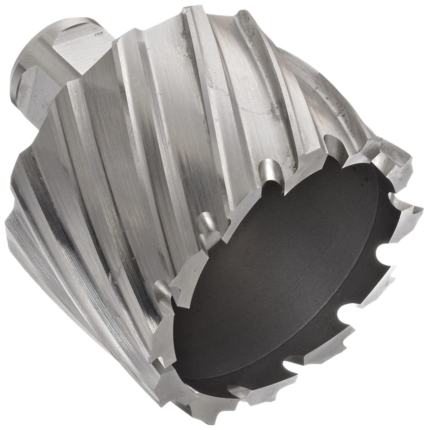 1-1//2 Diameter Jancy Slugger Carbide-Tipped Annular Cutter 2 Depth Finish 3//4 Annular Shank Bright Uncoated