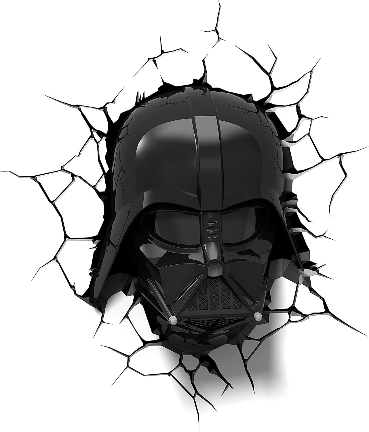 3dlightfx Star Wars Darth Vader Helmet 3d Deco Light Toys Games