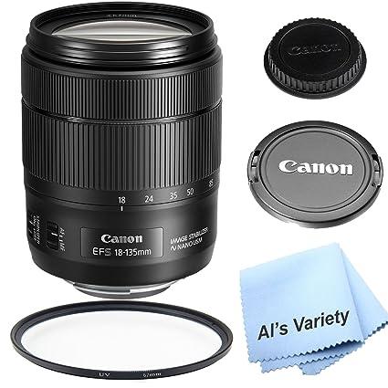 Canon EF-S 18 - 135 mm f/3,5 - 5,6 IS USM Lens para Canon DSLR ...