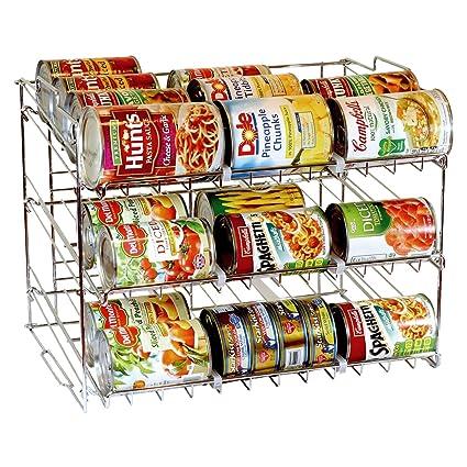 Organizador apilable Taylor & Brown® de 3 niveles para latas, capacidad para 36