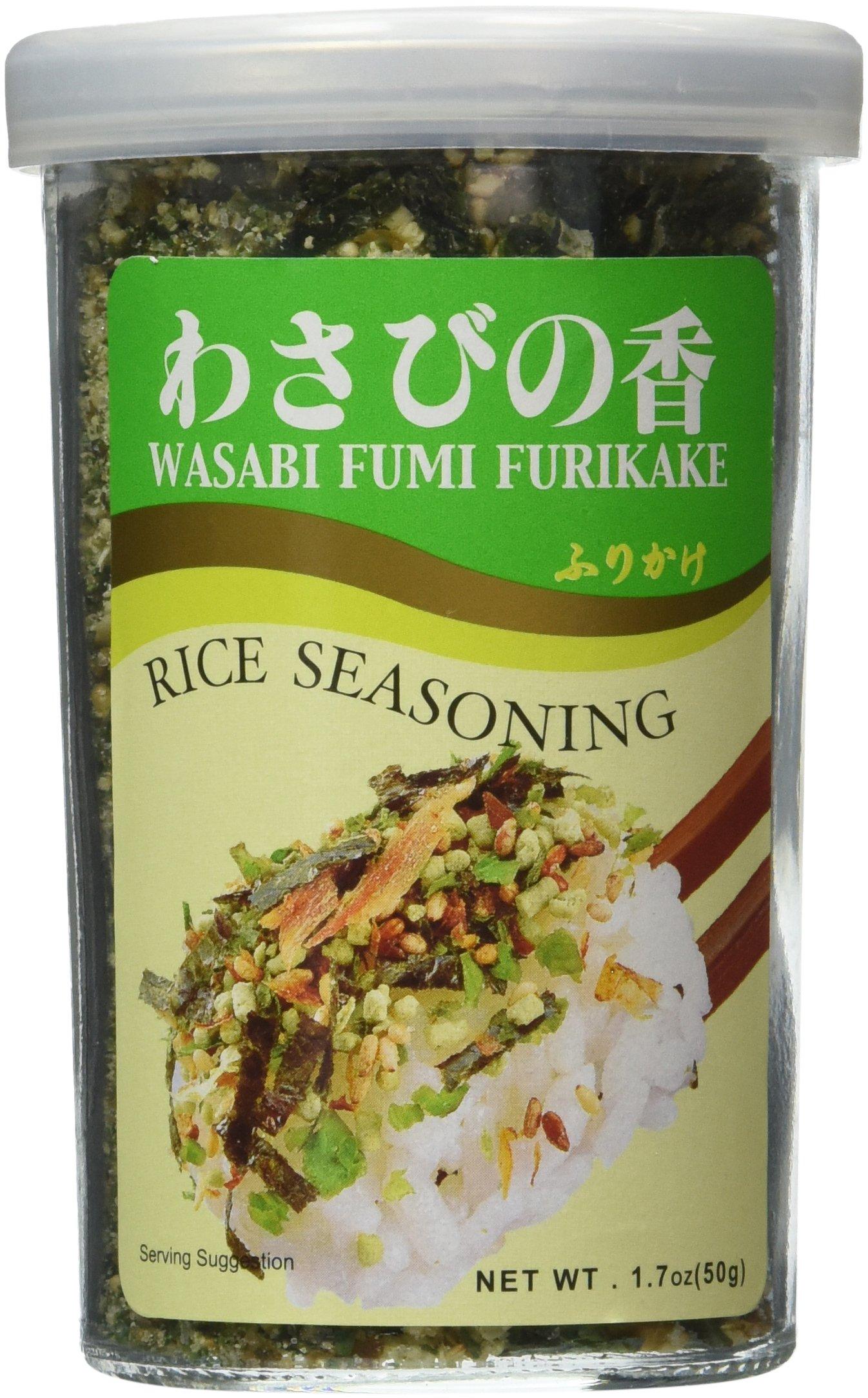 JFC - Wasabi Fumi Furikake (Rice Seasoning) 1.7 Oz. by JFC