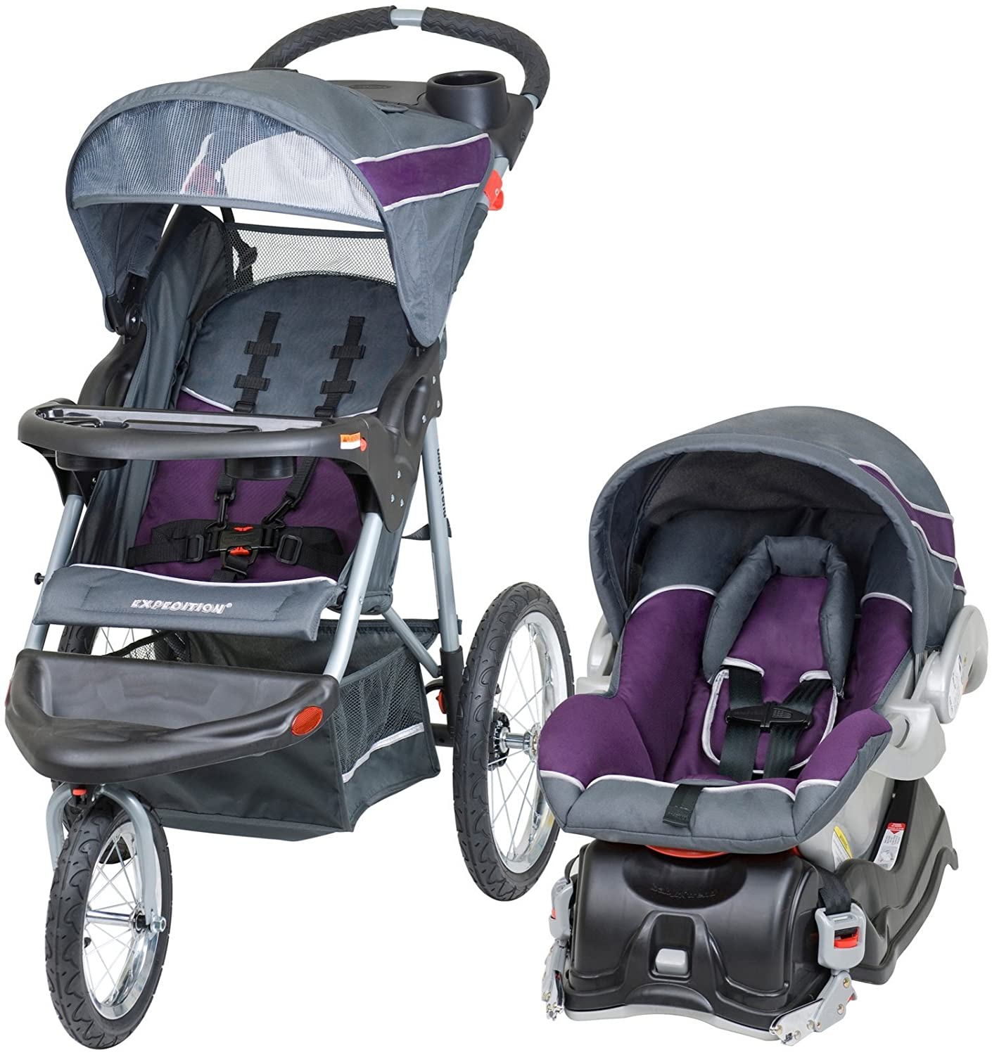 Baby Trend Expedition Jogger Travel System, Elixer TJ94715