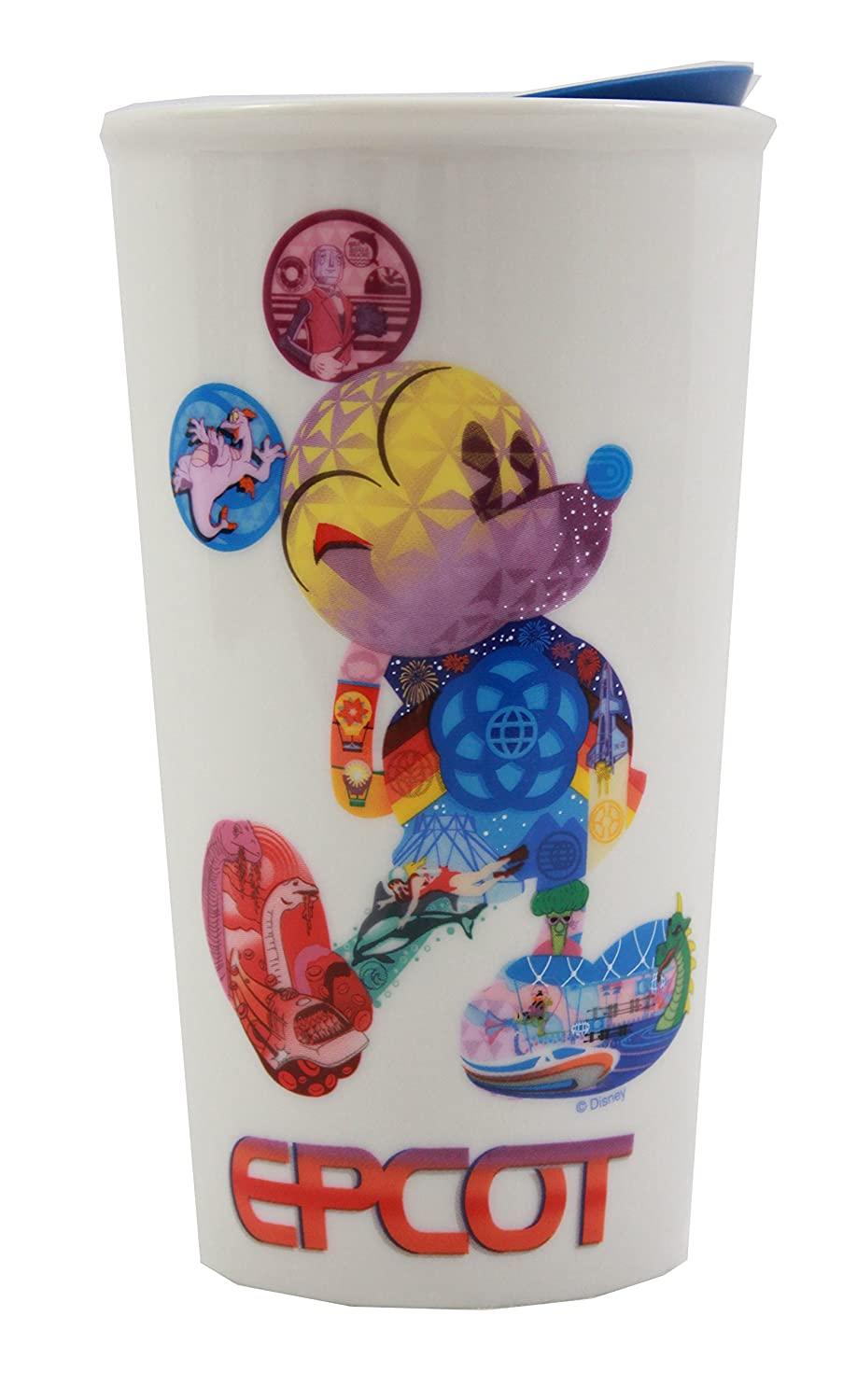 Disney Starbucks Epcot Mickey Icon Double Wall Travel Tumbler