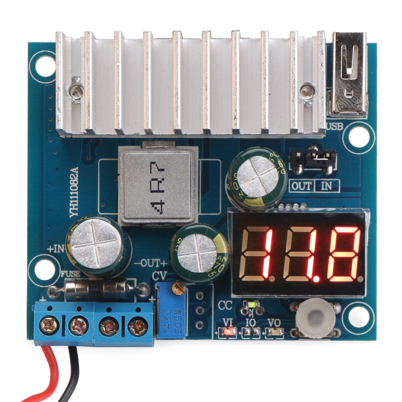 Drok Ltc1781 100w Dc Step Up Converter 3 32v 3v 5v Ltc1871 Boost Power Module 12v To 35v 5 V 24v Voltage Regulator Board 6a Switching Supply With