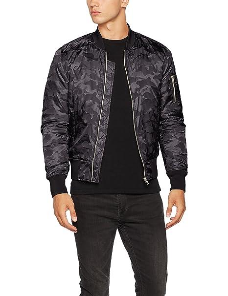 Urban Classics Tonal Camo Bomber Jacket, Chaqueta Hombre: Amazon.es: Ropa y accesorios