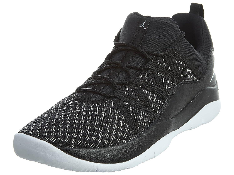 Jordan Deca Fly GG Girls Basketball-Shoes 844371-010_7.5Y - Black/White-White