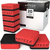 ARTEZA 20 Small Magnetic Whiteboard Dry Erasers, Perfect for the Office, Home, or Classroom