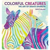 Colorful Creatures - Shanti Sparrow 2019 Calendar