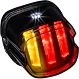 Harley LED Brake Tail Light [F1-Style Flashing Blinker] [Turn Signals] [Claw-Design] [DOT] [Plug-n-Play] License Running…
