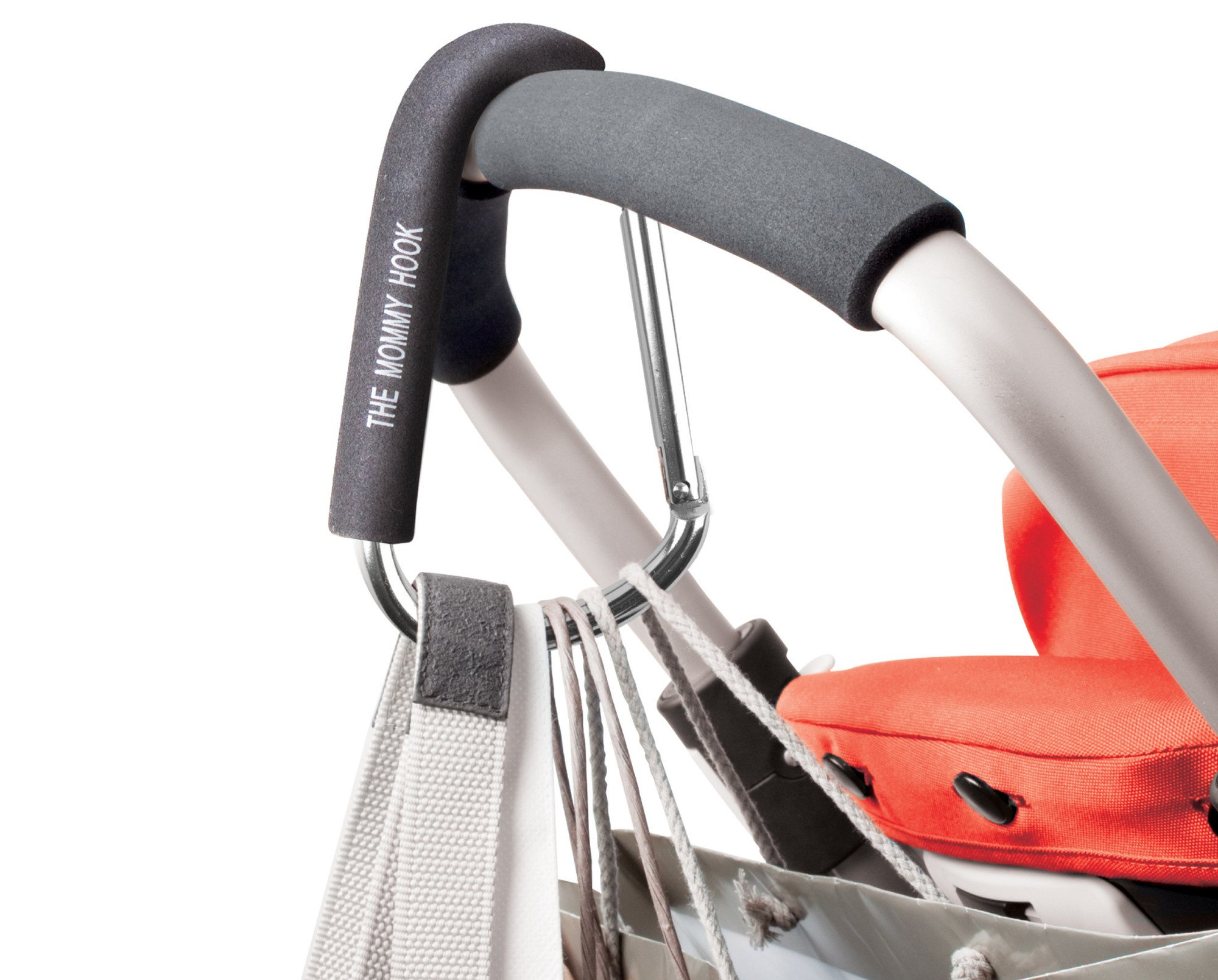 The Original Mommy Hook Stroller Accessory Black by The Mommy Hook (Image #3)