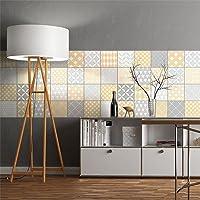 Ambiance-Live col-RV-0342 Azulejos adhesivos, multicolor, col-tiles-ROS-B013_10x10cm