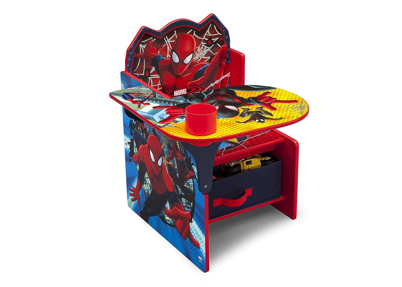 Amazoncom Delta Children Chair Desk With Storage Marvel Spider