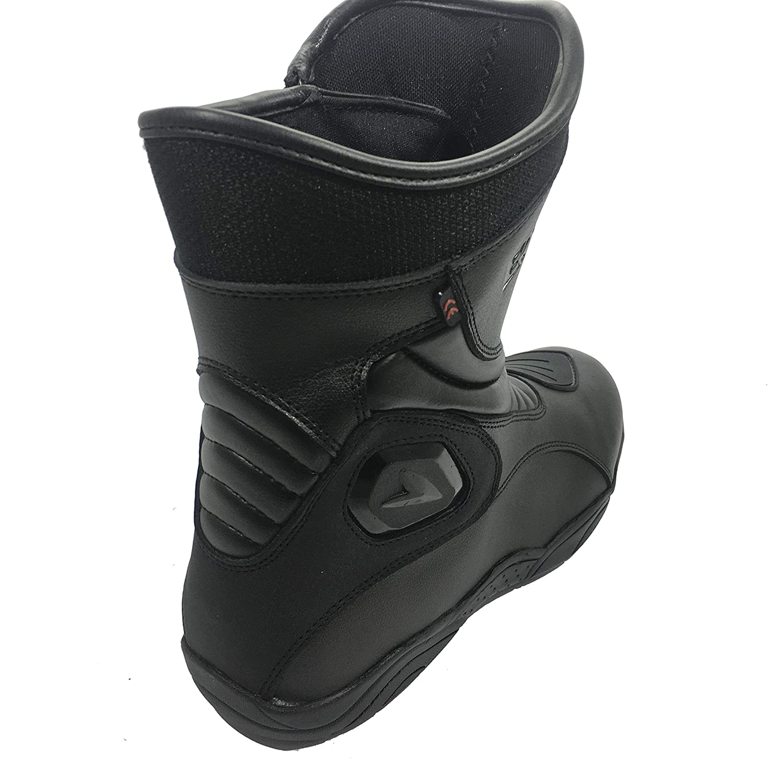 Bolt R35 CE HOMOLOGU/É EN13634 MOITIE Bottes RENFORCE ANTIDERAPANT Impermeable HIPORA Homme PPE Courses Sports Bottes en Cuir EU 43//9 UK