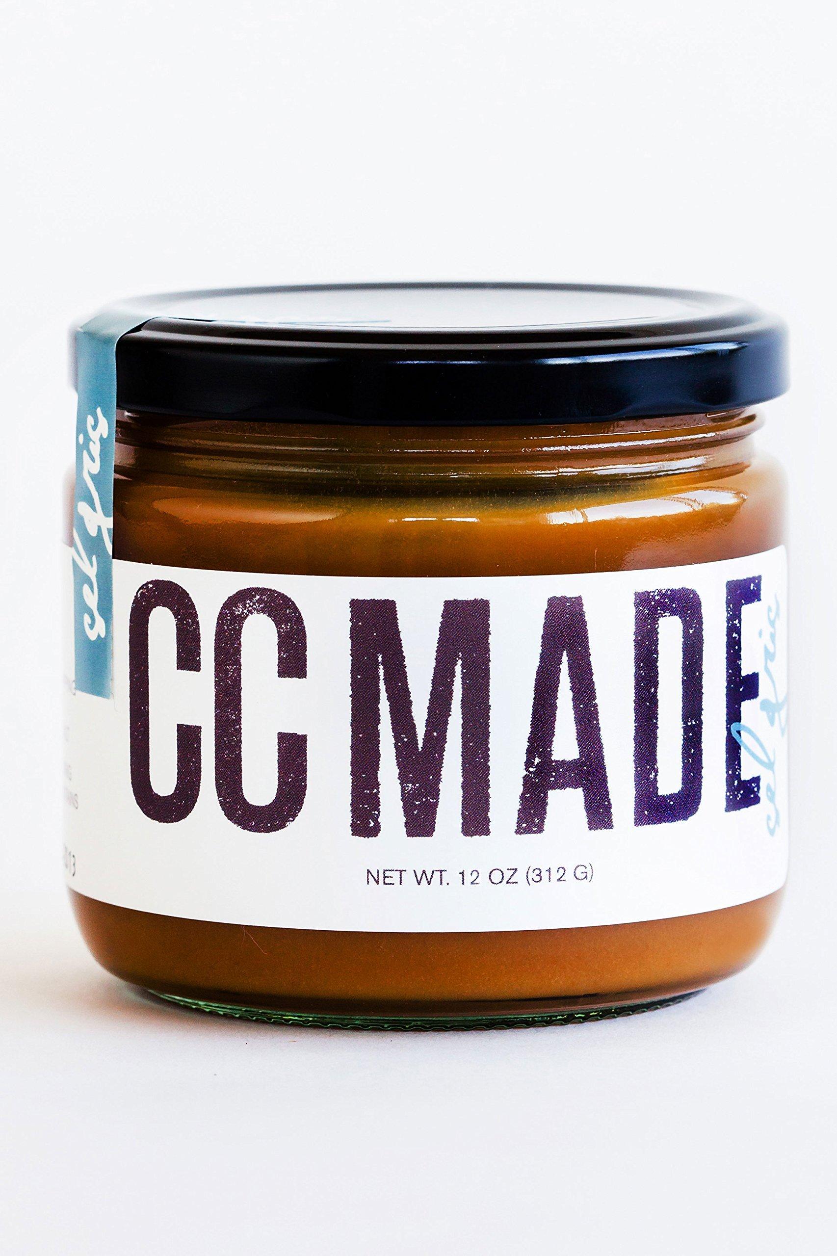 CC Made Caramel Sauce, Sel Gris, 12 oz.