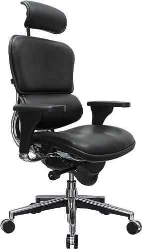 Eurotech Seating Ergohuman High Back Leather Swivel Chair