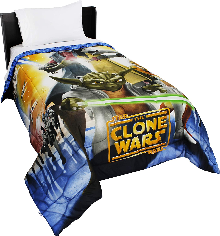 Star Wars Full Comforter Clone Wars Space Bedding