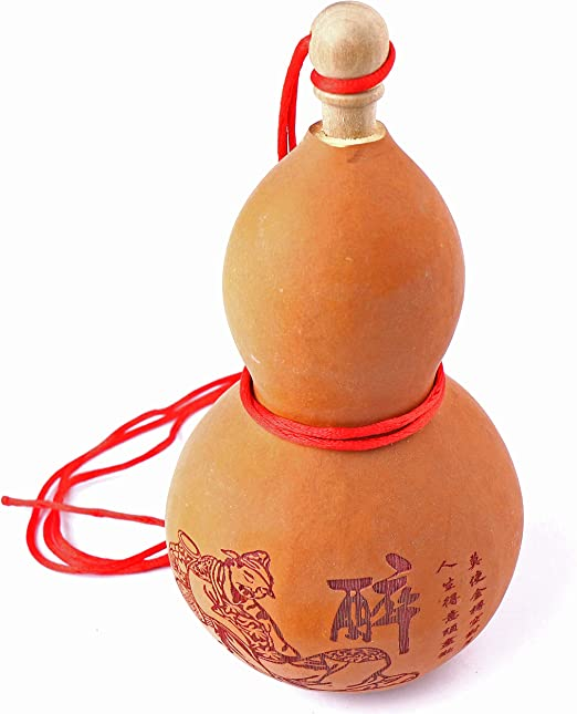 Potable Natural Real Dried Bottle Gourd Decor Ornaments Craft