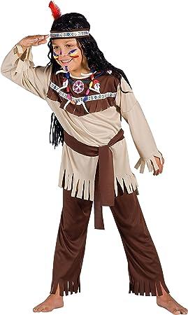 Ciao – Disfraz de Indio para niños - Incluye maquillaje - Modelo 10791 7-9 anni (M): Amazon.es: Juguetes y juegos