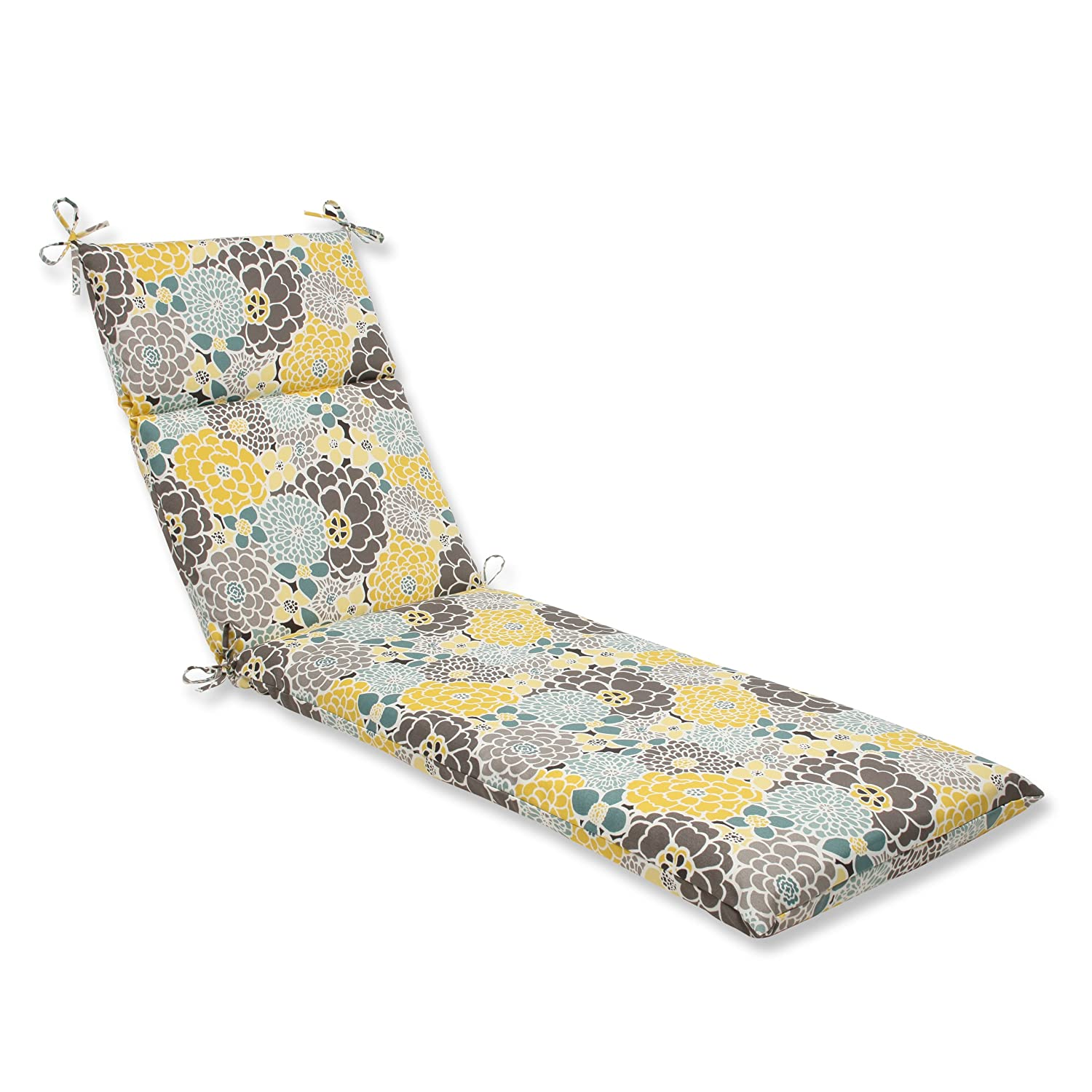 Pillow Perfect Outdoor Full Bloom Chaise Lounge Cushion