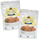Skinny Crisps Say Cheese Low Carb Gluten Free Gourmet Crackers 4 Ounce Bag (Pack of 2)